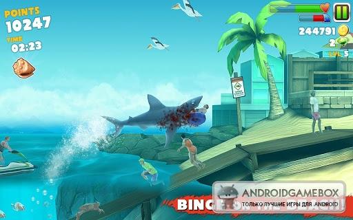 скачать игру hungry shark evolution на пк