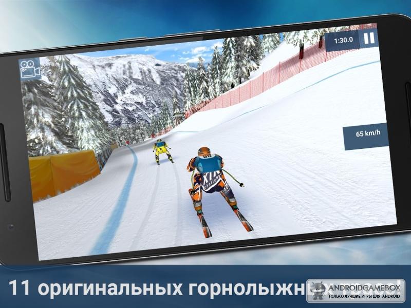 Скачать игру лыжи на компьютер